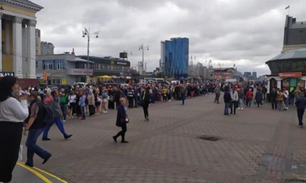 Відзавтра на зупинках громадського транспорту та біля станцій метро в Києві можливі черги