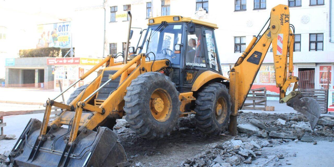 Міська рада Запоріжжя показала що відбувається на площі, яку зараз реконструюють