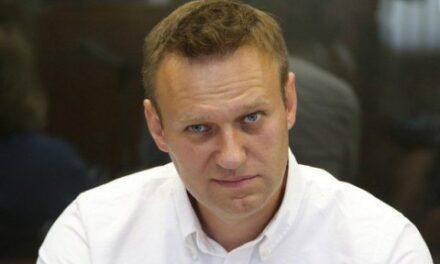 У Навального зобразили карту з Кримом у складі Росії, позиція принципова
