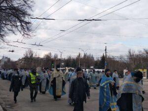Хресна хода РПЦ у Запоріжжі