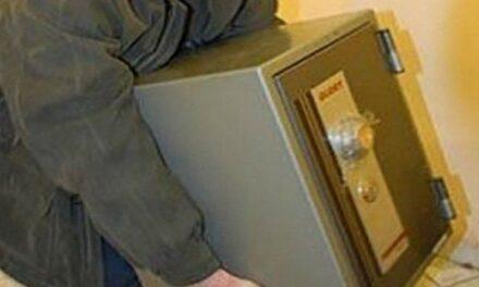 У Запорізькій області з підприємства вкрали сейф