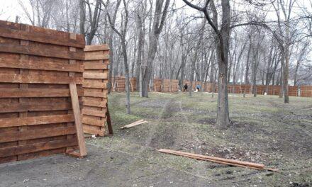 Стало відомо, що будують в головному запорізькому парку – фото