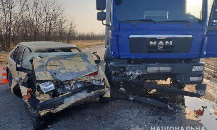 На Зпоріжжі загинув водій з Херсонщини