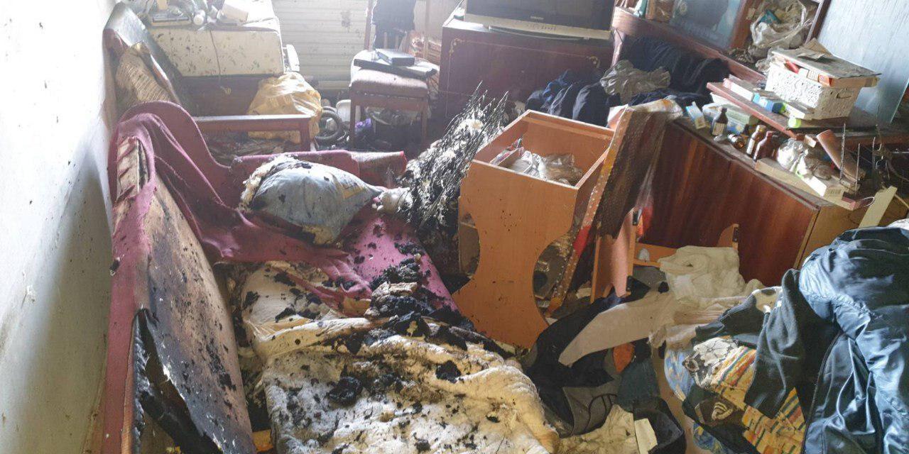 У Запоріжжі на пожежі загинула жінка – фото