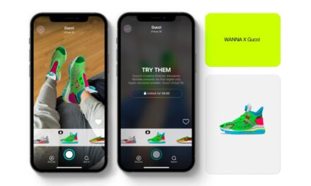 Завдяки сучасним технологіям запоріжці можуть приміряти віртуальні кросівки