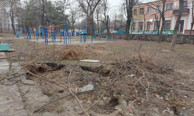 Парк «Студентський» у Запоріжжі став небезпечним для прогулянок – фото, відео
