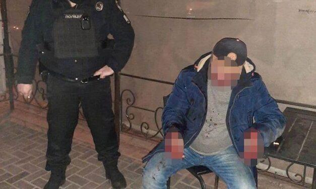 У Запоріжжі затримали стрілка, який вистрілив постраждалому у живіт в кафе – фото