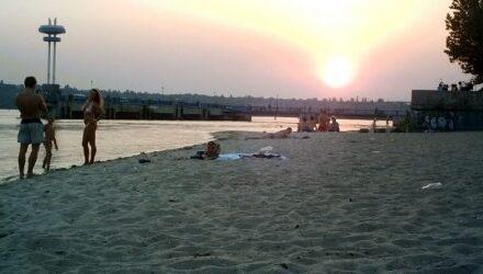 Частину центрального пляжу в Запоріжжі закриють