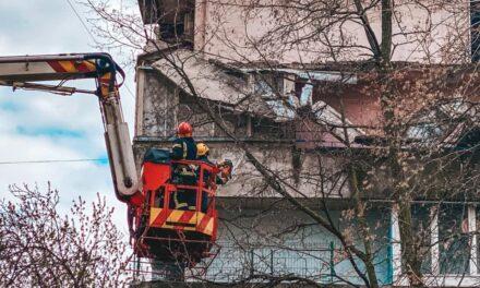 У Шевченківському районі столиці впав балкон