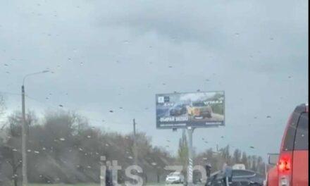 На Прибережній магістралі у Запоріжжі ДТП – відео