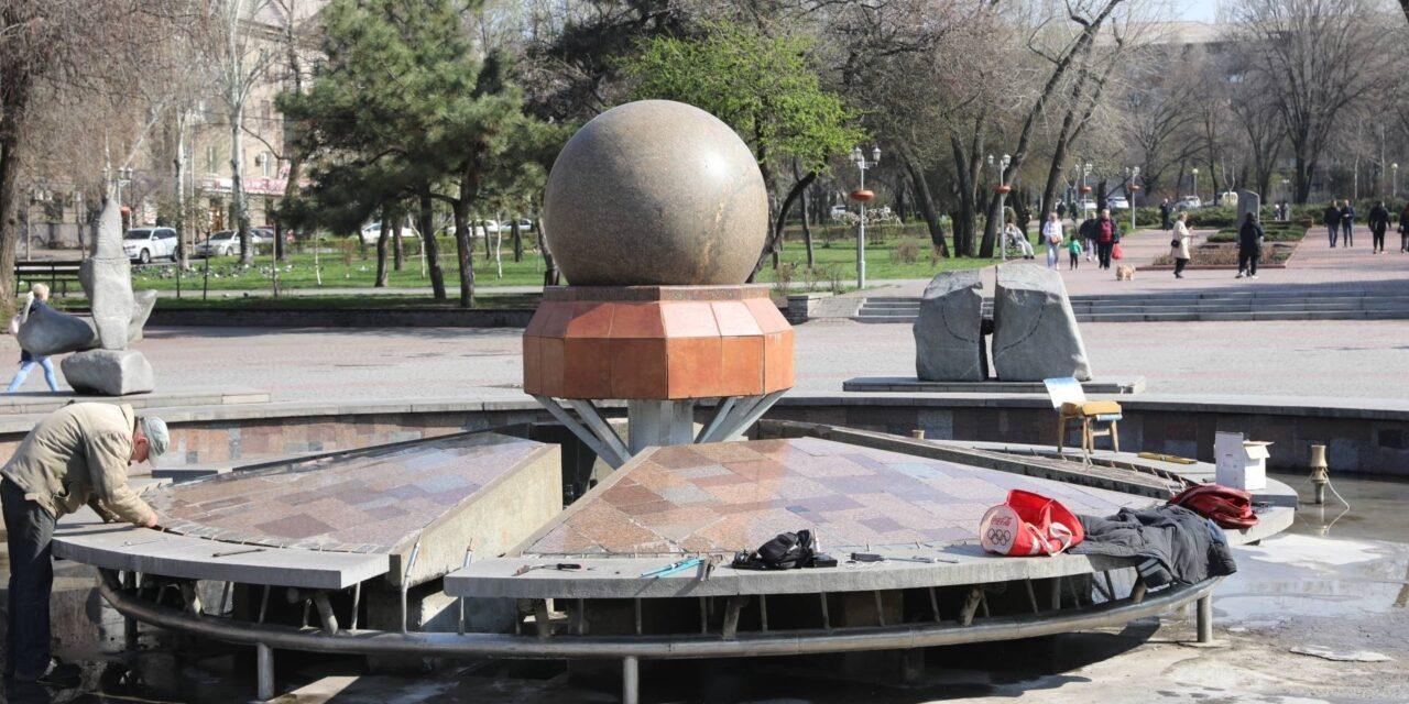 Скоро у центрі Запоріжжя запрацює фонтан – фото