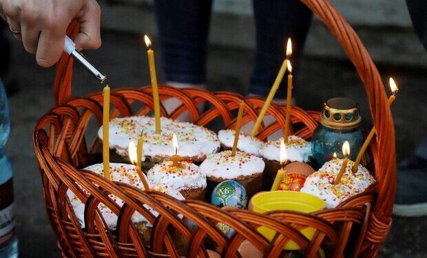 Освячення пасок онлайн: на травневі свята запоріжців просять сидіти вдома