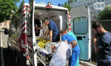 Санавіація доставила маленьку мешканку Запорізької області до клініки Охматдит