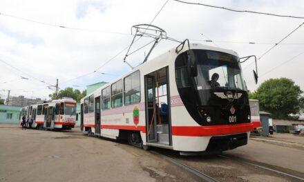 На лінію у Запоріжжі вийшов ще один європейський трамвай