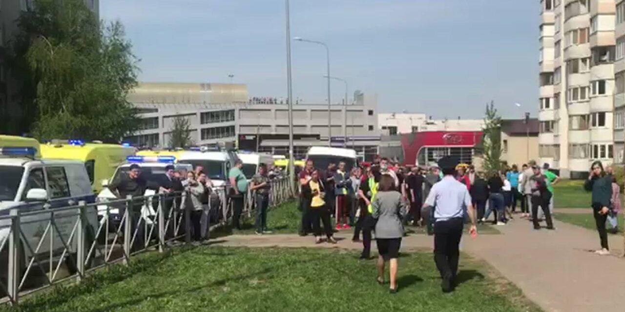 У Казані, в школі загинуло 9 осіб, діти тікали від нападника через вікна – відео