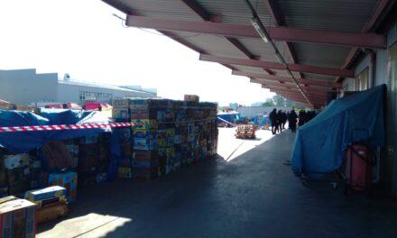 На ринку в Києві стався конфлікт, застосовували петарди та димові пакети