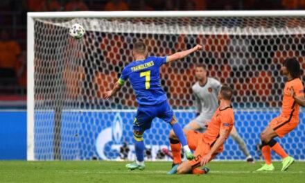 Матч Україна-Нідерланди закінчився рахунком 2:3