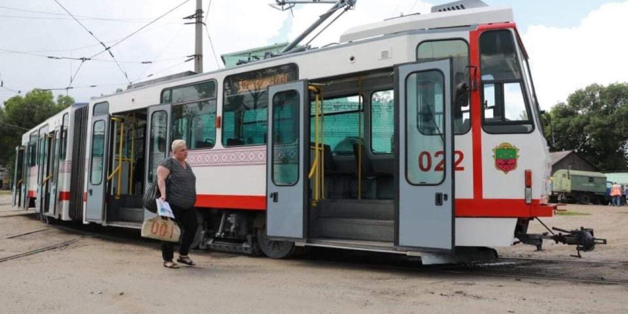 До комунального транспорту Запоріжжі долучився ще один трамвай