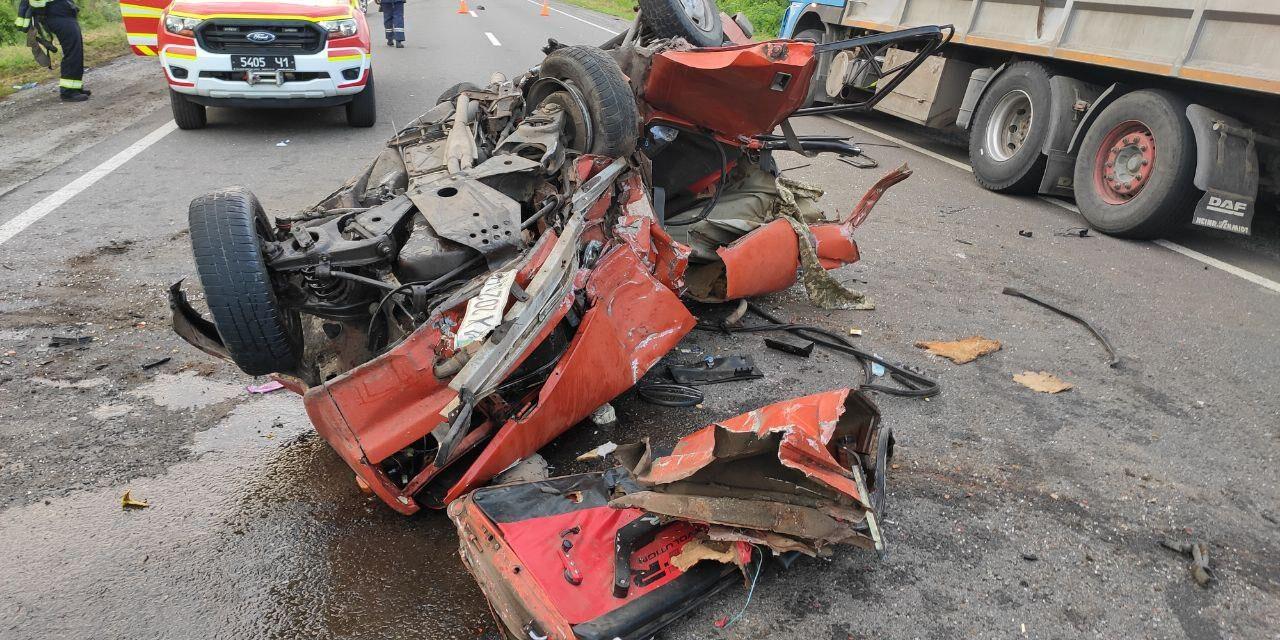 Подробиці аварії на Запоріжжі: один чоловік загинув, інший лежить в реанімації