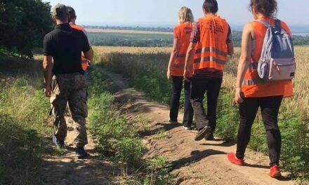 Сьогодні під Запоріжжям волонтерська група прочісує місцевість