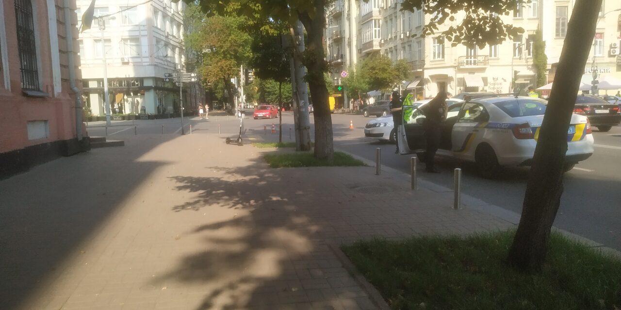 Рух транспорту в центрі Києва обмежено