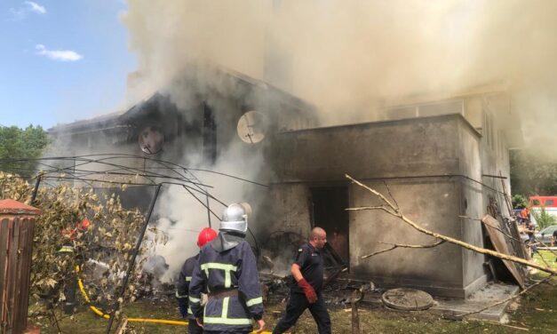 На Прикарпатті впав літак, відомо про 4 загиблих