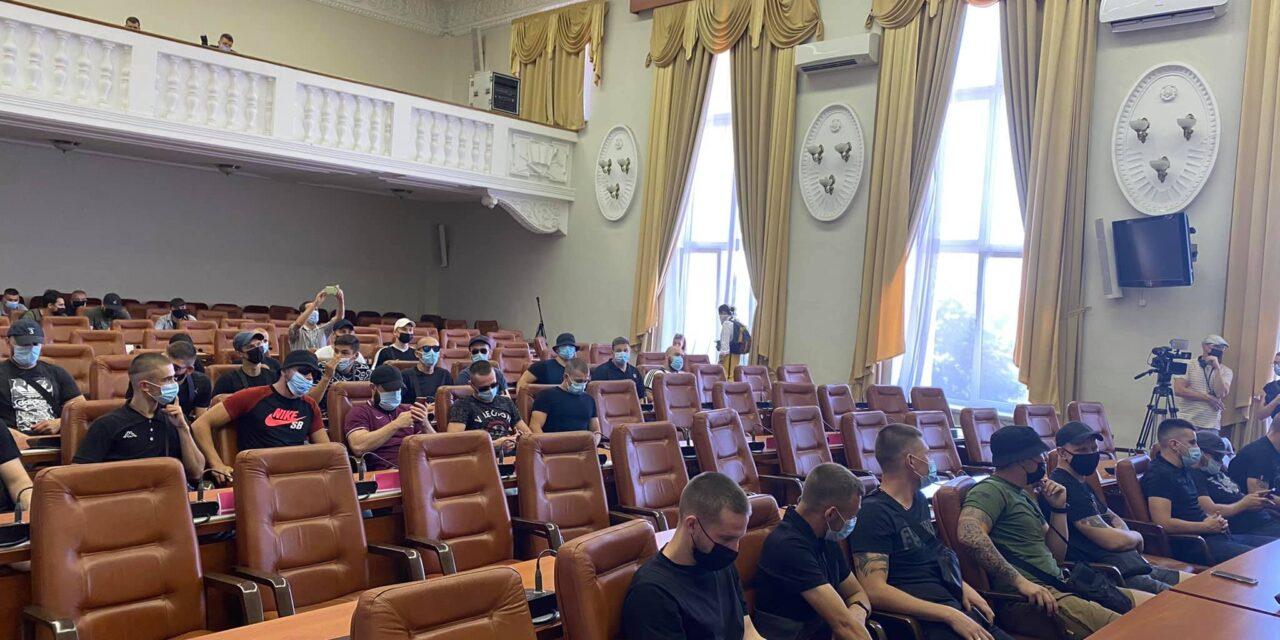 Поліція Запоріжжя відкрила кримінальне проваждення стосовно людей, які зайняли місця міського голови та депутатів