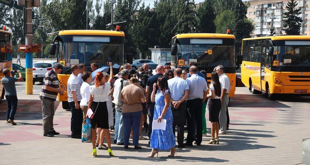 «ЗАЗ» виготовив автобуси для шкіл Запорізької області – фото
