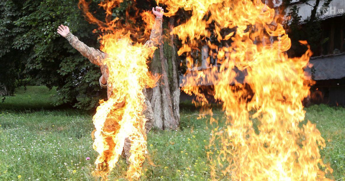 Жінка, яка спробувала себе спалити у Запорізькому районі, має психічні розлади