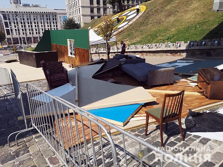 Організатори розповіли, для чого у Києві на Алеї Героїв Небесної Сотні встановили декорації радянської епохи