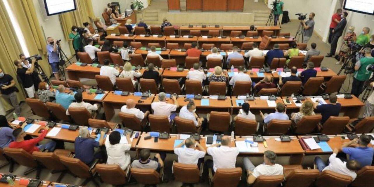 З восьмої спроби Буряку вдалося зібрати депутатів Запорізької міськради