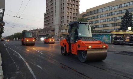 На головному проспекті Запоріжжя розпочався ремонт дороги – фото