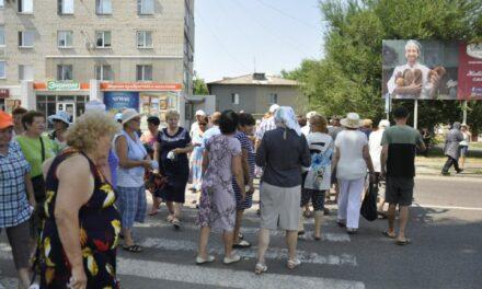 Активісти охороняють об'єкт від газовиків у Запорізькій області – фото