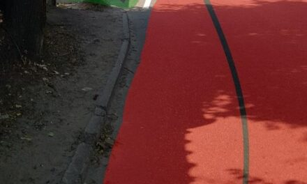 У Запоріжжі на дорозі нанесли розмітку, яка може стати причиною ДТП – фото