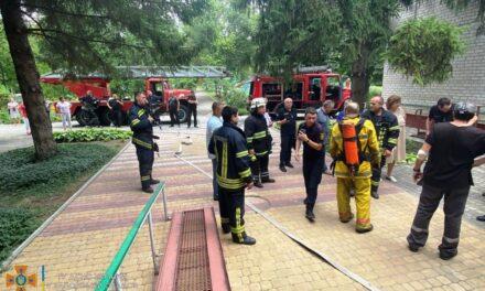 У Запорізькому дитбудинку сталося коротке замикання, евакуйовано 27 дітей – фото