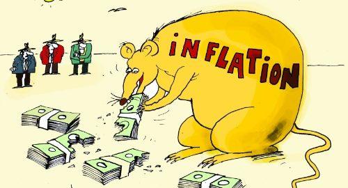 В Україні інфляція зростає з геометричною прогресією