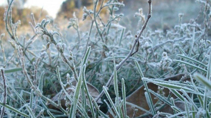 У кількох областях України прогнозують -5 °С