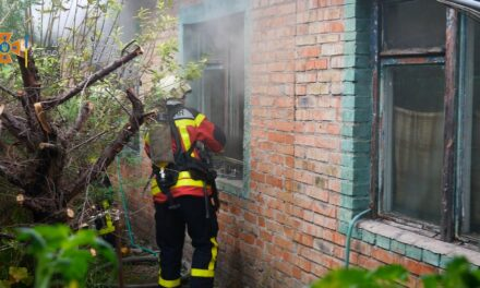 На Запоріжжі в будинку під час пожежі загинув чоловік – фото