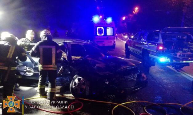 У Запоріжжі внаслідок ДТП постраждалоп'ятеролюдей – фото