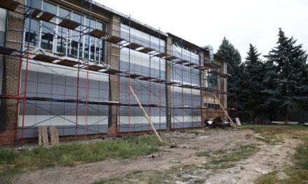 Названо строки завершення реконструкції фасаду ШВСМ у Запоріжжі