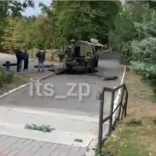 В районі Запорізького медуніверситету пролунав вибух, у поліції прокоментували інцидент