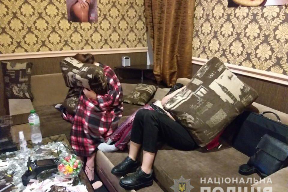 Услід за порностудіями в Запоріжжі викрили два борделі – фото