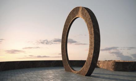 На острові на Дніпрі у Запоріжжі почали встановлювати унікальний арт-об'єкт – відео