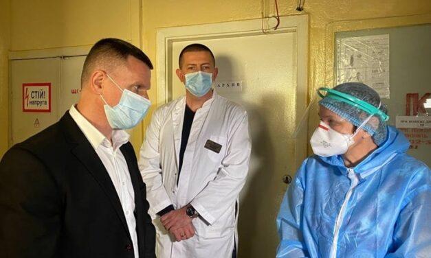 В запорізькій місцевій лікарені планують розгорнути додаткові ліжка для коронавірусних хворих