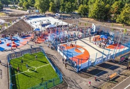На курорті Запорізької області хочуть збудувати урбан-парк